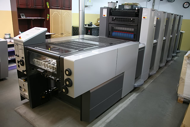 Maszyna Heidelberg Speedmaster - do druku offsetowego arkuszowego