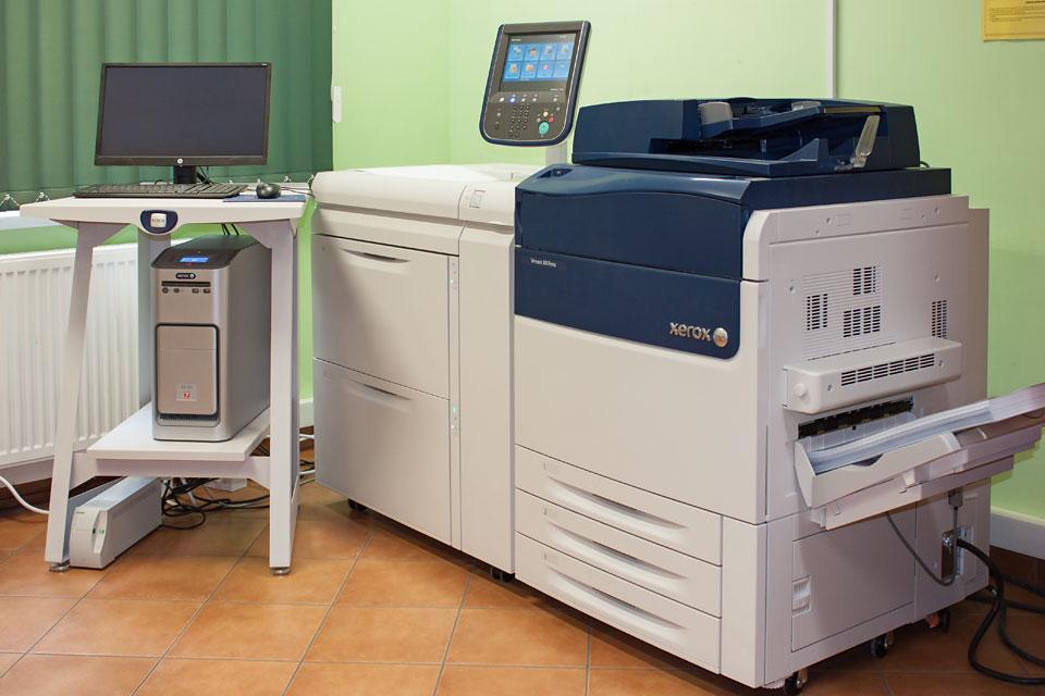 Maszyna do druku cyfrowego - Xerox Versand 80