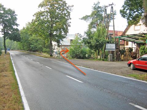 Widok ul. Zegadłowicza (od strony Pilchowa)