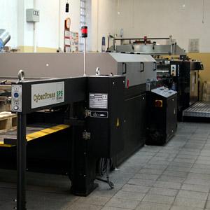 SPS Rehmus - Linia automatyczna do sitodruku i lakierowania UV