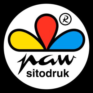 Logo drukarni Paw